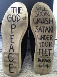 Crushing Satan