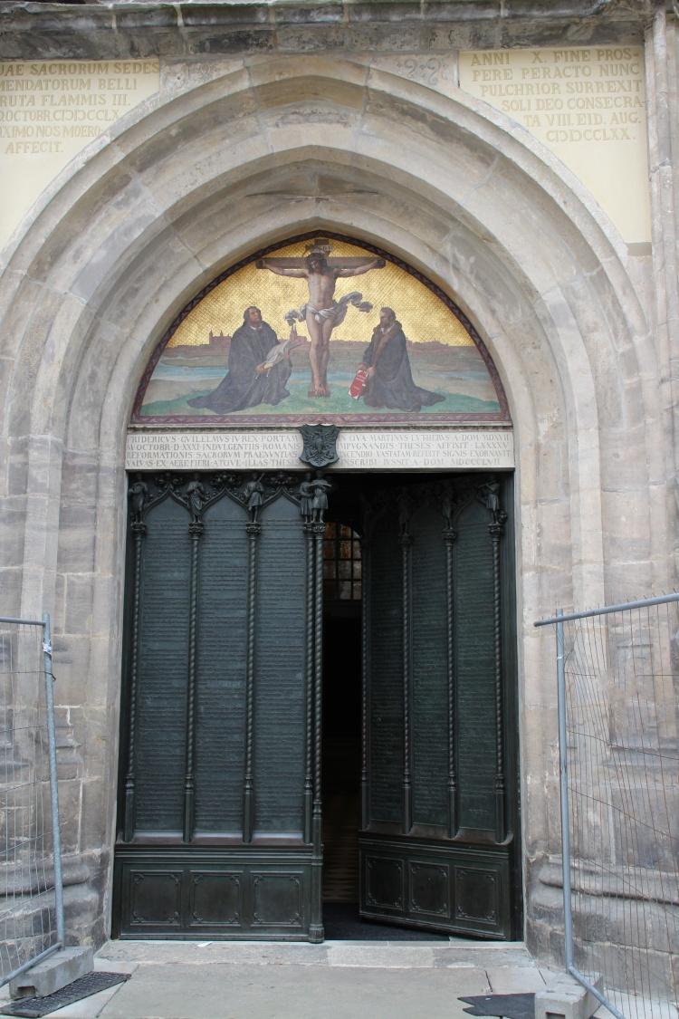 Die Thesentr in Wittenberg